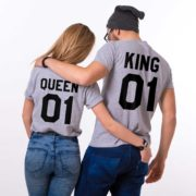 King 01, Queen 01, Gray/Black