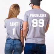 99 Problems Aint 1, Gray/White