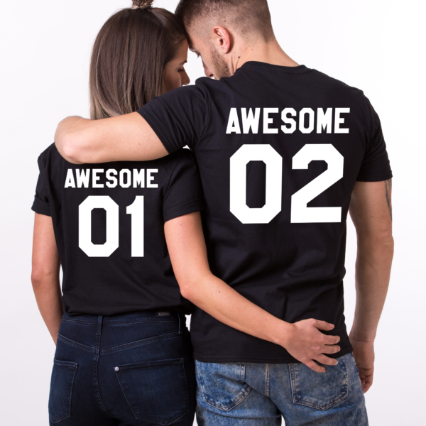 Awesome 01 Awesome 02, Black/White