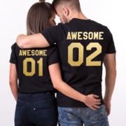 Awesome 01 Awesome 02, Black/Gold