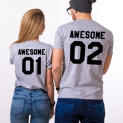 Awesome 01 Awesome 02, Gray/Black