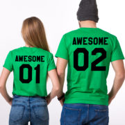 Awesome 01 Awesome 02, Green/Black