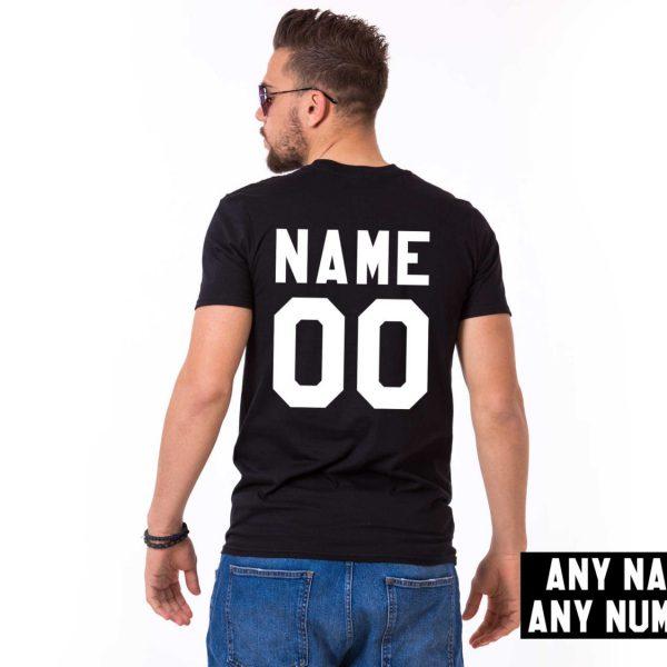 Custom shirt, Personalized name shirt, Custom numbers shirt, Any name, Any number, UNISEX 1
