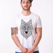 Wolf, White/Black