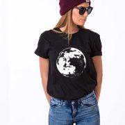 Moon Shirt, Black/White