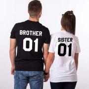 Brother Sister 01, Black/White, White/Black