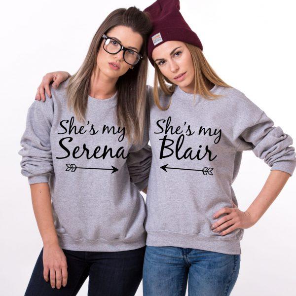 She's my Serena, She's my Blair, Gray/Black