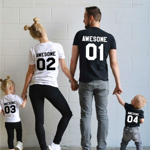 Awesome 01, Awesome 02 03 04, White/Black, Black/White