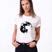 Moon Shirt, White/Black