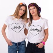 Best Bitches, Matching Best Friends Shirts, Unisex