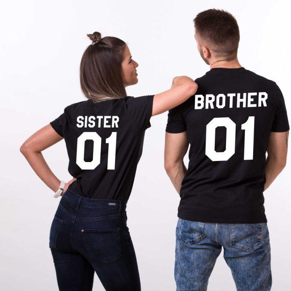 Brother Sister 01, Black/White