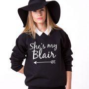 She's my Blair, Black/White