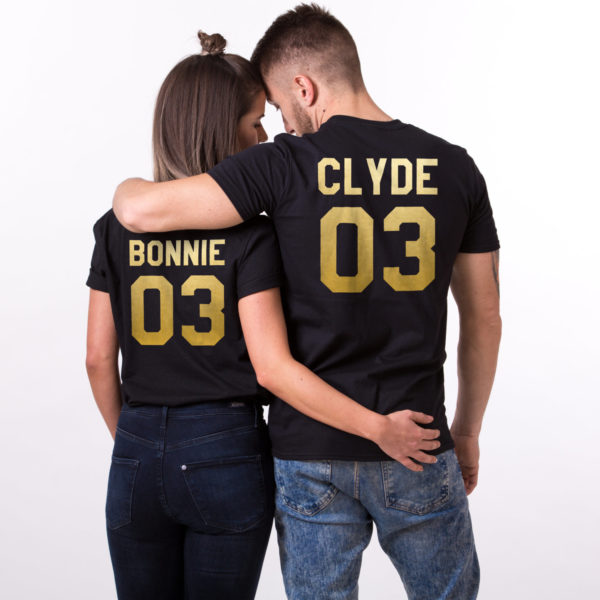 Bonnie 03 Clyde 03, Black/Gold