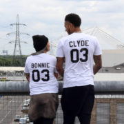 Bonnie Clyde 03, White/Black – Instagram