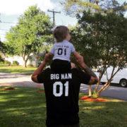 Big Man Little Man 01, Black/White, White/Black