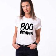 Boo Bitches, White/Black