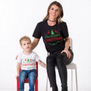 CUSTOM name set of 3 family matching Christmas shirts, matching family Christmas shirts, matching Christmas outfits,family Christmas pajamas 5