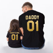 Daddy, Daddy's Girl, Black/Gold
