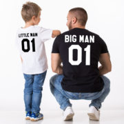 Big Man Little Man 01, Matching Daddy and Me Shirts
