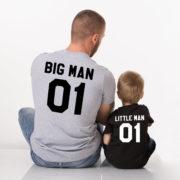 Big Man Little Man 01, Gray/Black, Black/White