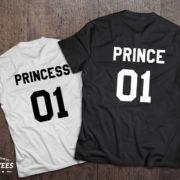 Prince princess shirts, Prince princess shirts for kids, UNISEX 2
