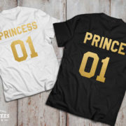 Prince princess shirts, Prince princess shirts for kids, UNISEX 4