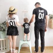 King Queen 01 Prince, Black/White, White/Black