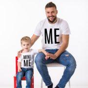 Me, Mini Me, White/Black