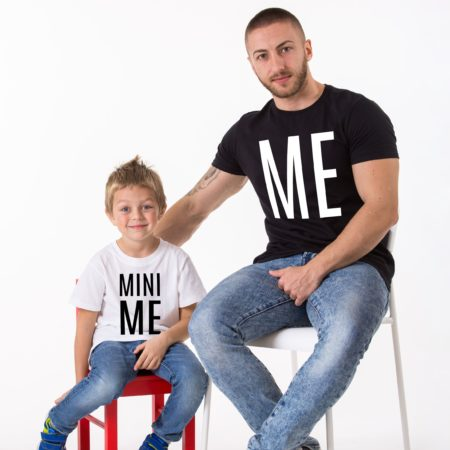 Me, Mini Me, Matching Father Kid Shirts