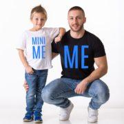 Me, Mini Me, White/Blue, Black/Blue
