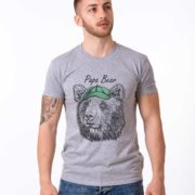 Papa Bear, Gray/Black