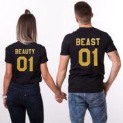 Beauty 01 and Beast 01, Black/Gold