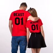 Beauty 01 and Beast 01, Red/Black