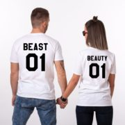 Beauty 01 and Beast 01, White/Black