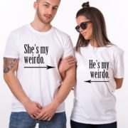 He's My Weirdo, She's My Weirdo, White/Black