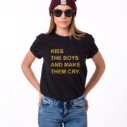Kiss the Boys and Make Them Cry, Black/Gold