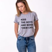 Kiss the Boys and Make Them Cry, Gray/Black