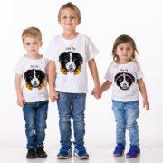 Little Dog, Baby Dog Girl, Baby Dog Boy, White/Black