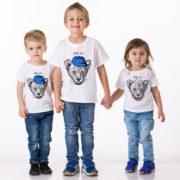 Little lion, Baby lion,White/Black