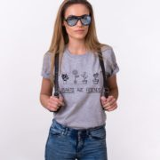 Plants are Friends Shirt, Gray/Black