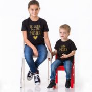 Big Sister to a Little Mister, Little Mister, Black/Gold