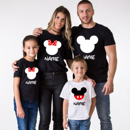 Custom Family Shirts, Matching Mouse Family Shirts