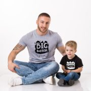 Big Man, Little Man, Black/White, Gray/Black