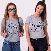 Bitch 1, Bitch 2, Gray/Black