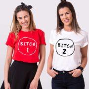 Bitch 1, Bitch 2, Red/White, White/Black