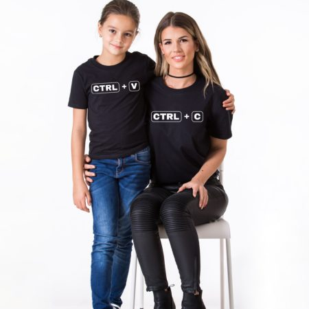 Ctrl+C, Ctrl+V, Matching Mommy and Me Shirts, Mother Kid ShirtCtrl+C, Ctrl+V, Matching Mommy and Me Shirts, Mother Kid Shirt