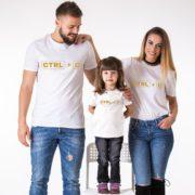 Ctrl+C, Ctrl+V, White/Gold