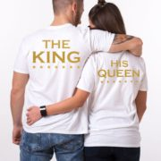 Her King His Queen, White/Gold