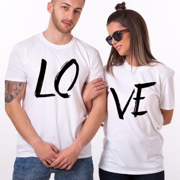 LOVE, White/Black