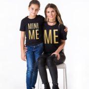 Me, Mini Me, Black/Gold